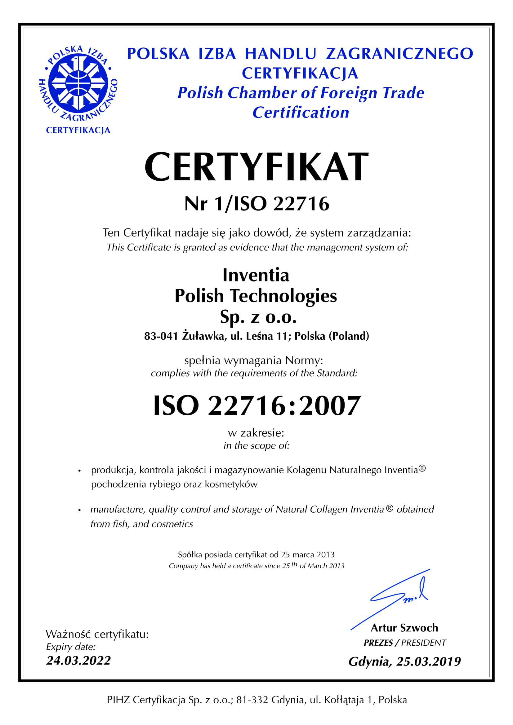 Inventia-ISO_22716_2019